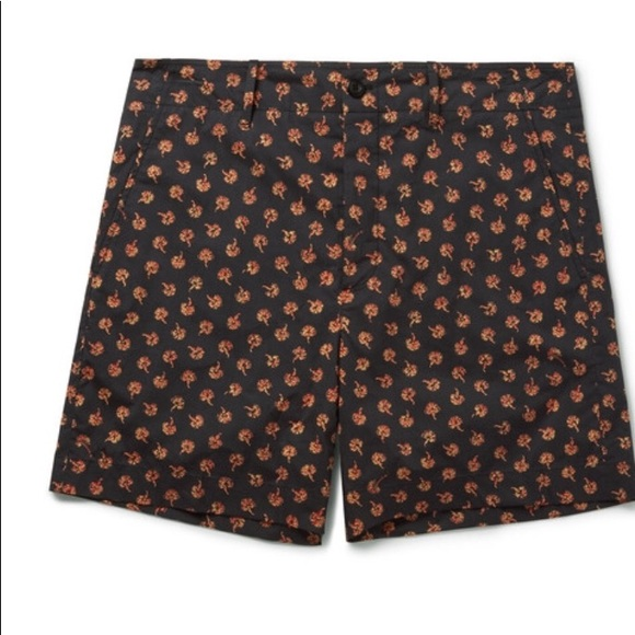Floral-printed cotton shorts Gucci 9zCXJos